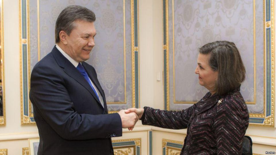 Yanukovych Nuland Ukraine USA Maidan