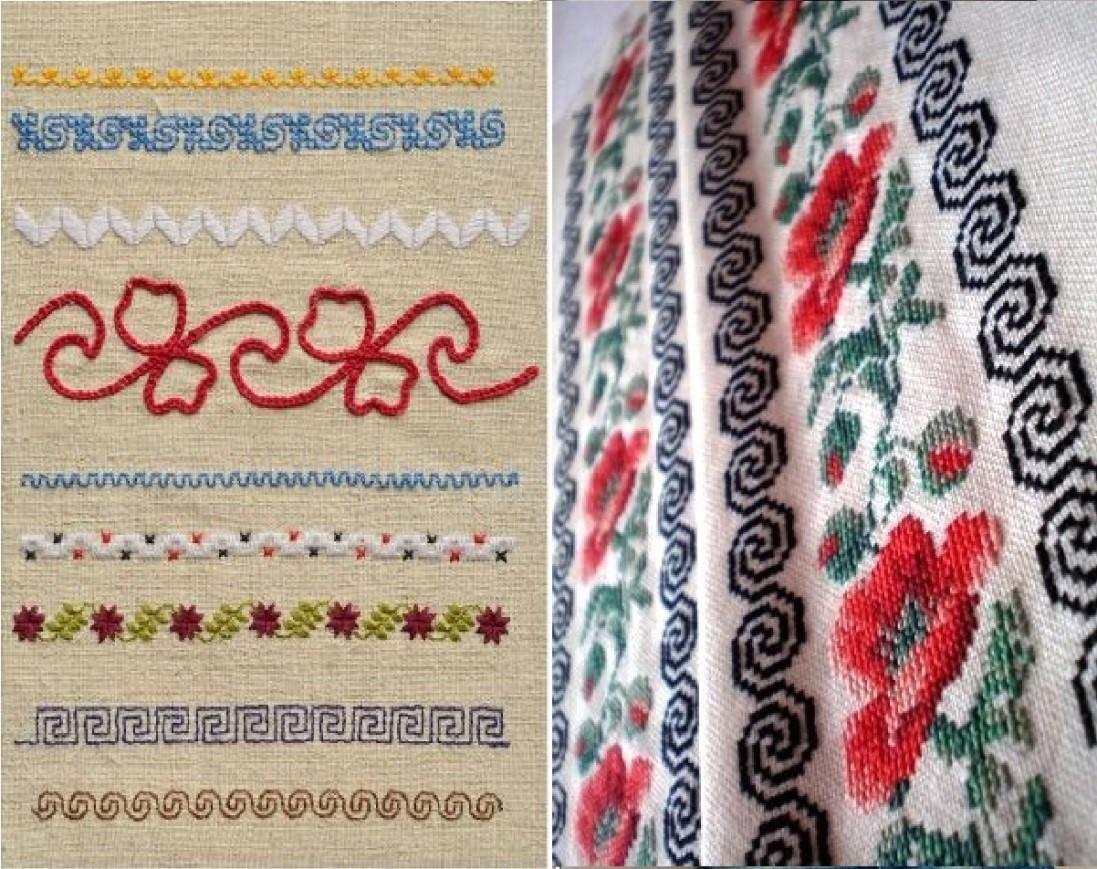 Slavic amulets embroidery scheme of secret signs (photo)
