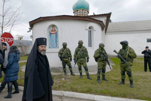 The orthodox church in Perevalne belonging to the Kyiv Patriarchate was seized on 1 June 2014