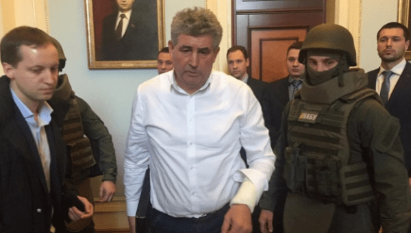 Odesa judge Oleksiy Buran was shooting at the National Anti-Corruption Bureau detectives carrying out a warranted search in his house