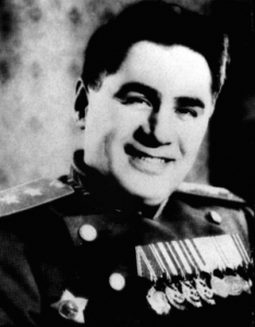Lieut. Gen. Pavel A. Sudoplatov, a Soviet VChK/OGPU/ NKVD/MGB/KGB spymaster and assassin, who claimed to have engineered the theft of atomic secrets from the United States and, as now discovered, headed Stalin's failed attempt at negotiations with Hitler after the start of his invasion of the Soviet Union. (Image: novayagazeta.ru)