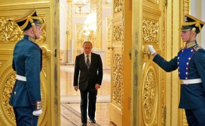 Putin inside Kremlin's gilded walls (Image: kremlin.ru)