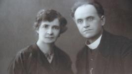Ihor's grandmother Teofilia and grandfather Lev Yurchynsky