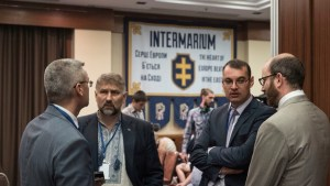 """Intermarium: The Heart of Europe Beats in the East"" scientific-practical conference took place in Kyiv on July 2, 2016 (Image: QHA.com.ua)"