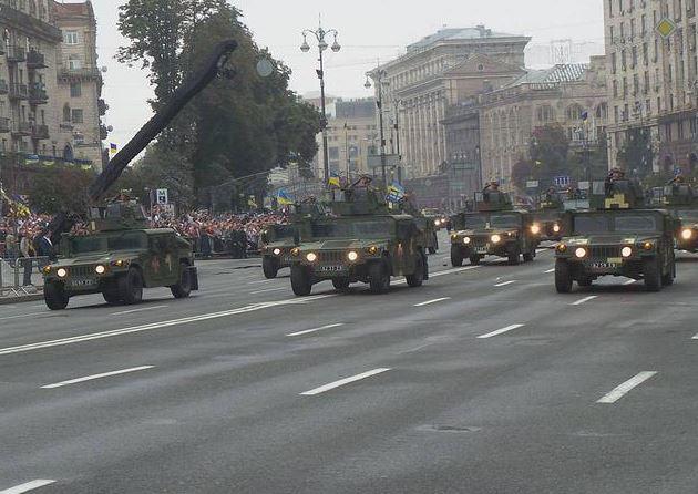 Hummers. Photo: Viktor Kovalenko