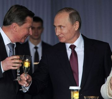 Former head of Putin's Presidential Administration Sergey Ivanov, Vladimir Putin, and Speaker of the Federation Council Valentina Matviyenko (Image: kremlin.ru)