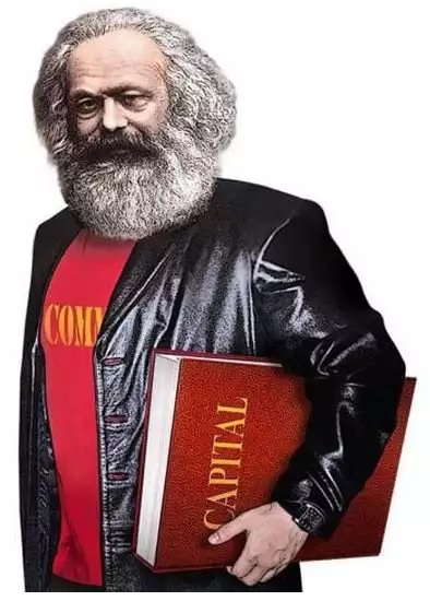 """Ads by the Communist Party of Russian Federation feature a """"cool Karl Marx"""" -- their effort to """"update"""" their brand for the 2016 State Duma election campaign (Image: Igor Petrygin-Rodionov)"""