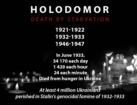 Stalin starved populations to death to russify Ukraine, North