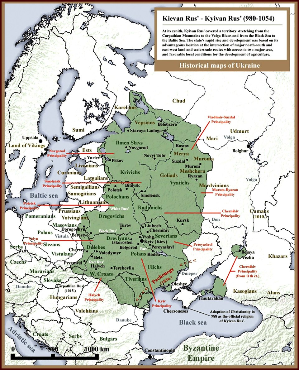 Kyivan Rus 980-1054