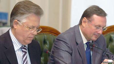 Petro Symonenko (l) and Oleksandr Yefremov (r)