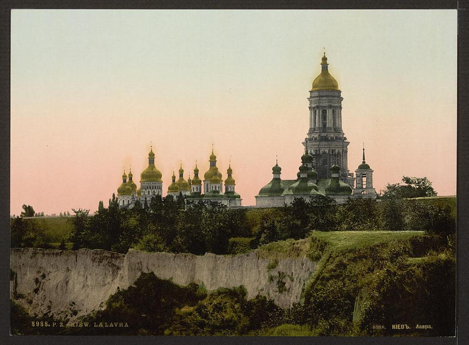 A view of the Lavra in Kyiv, Ukraine circa 1890-1900. Image: Detroit Publishing Company via the Library of Congress