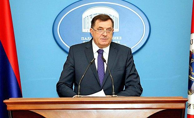 Milorad Dodik. Photo: EPA/UPG