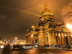 Saint Isaac's Cathedral in St. Petersburg, Russia, 2017 (Image: Wikimedia)
