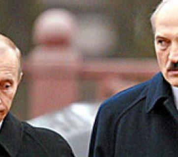 Putin and Lukashenka