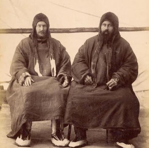 The Pomors, o etnie care compune ruși moderni. Fotografie circa 1900.