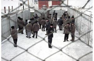 Russian prison, criminal world