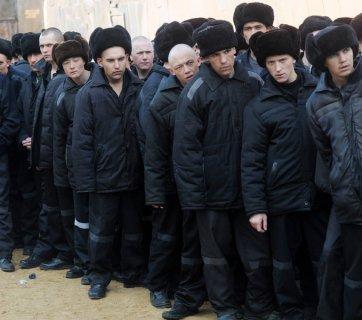 Underage prisoners at a Russian prison (Image: rufabula.com)