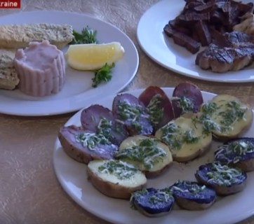 Blue and Pink Potatoes