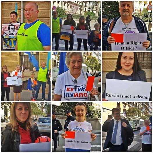Photo collage: Euromaidan SOS