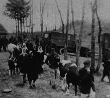 Photo: SBU archives. Eviction of the Ukrainian population during the Vistula Operation in Poland.