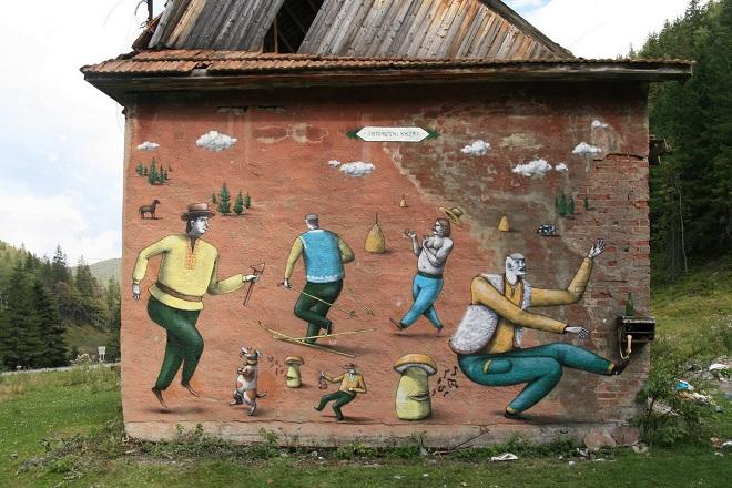 Vorokhta, Carpathian Mountains, Ukraine