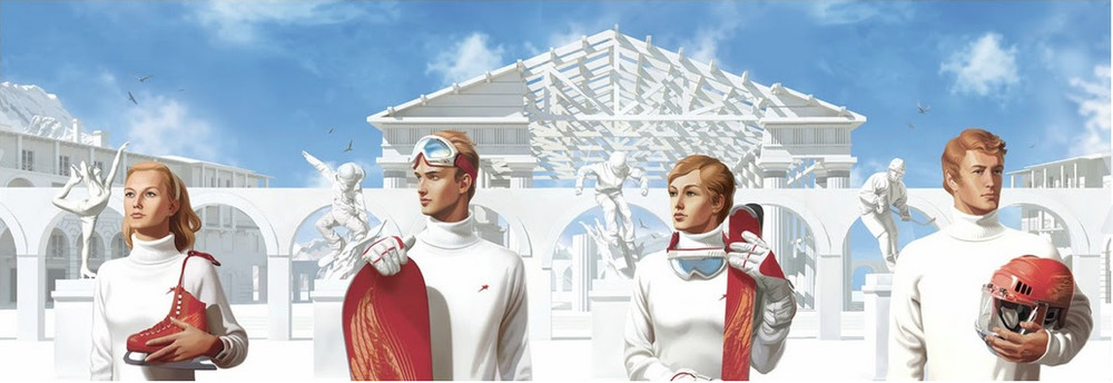 «The Olympic Panel» by Russian art group Doping-Pong (Image: snob.ru)