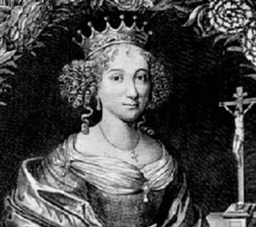 An engraved portrait of Anna of Kyiv, copied from the collection of the academician Bassen. Created during the late XVIII-early XIX century. Photo: Wikipedia