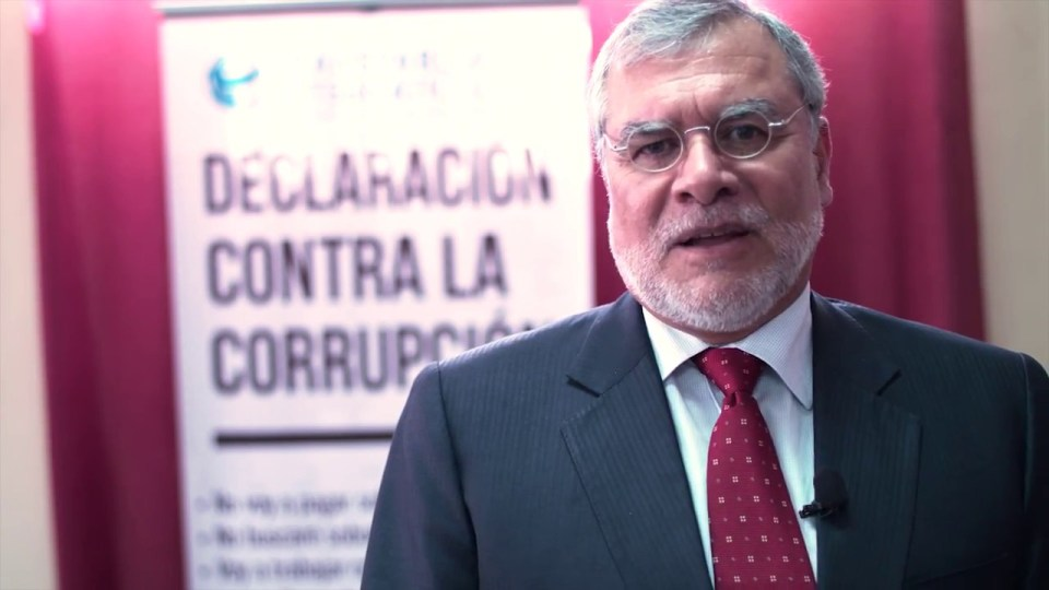 Jose Ugaz, Head of Transparency International Ukraine, says the NGO may