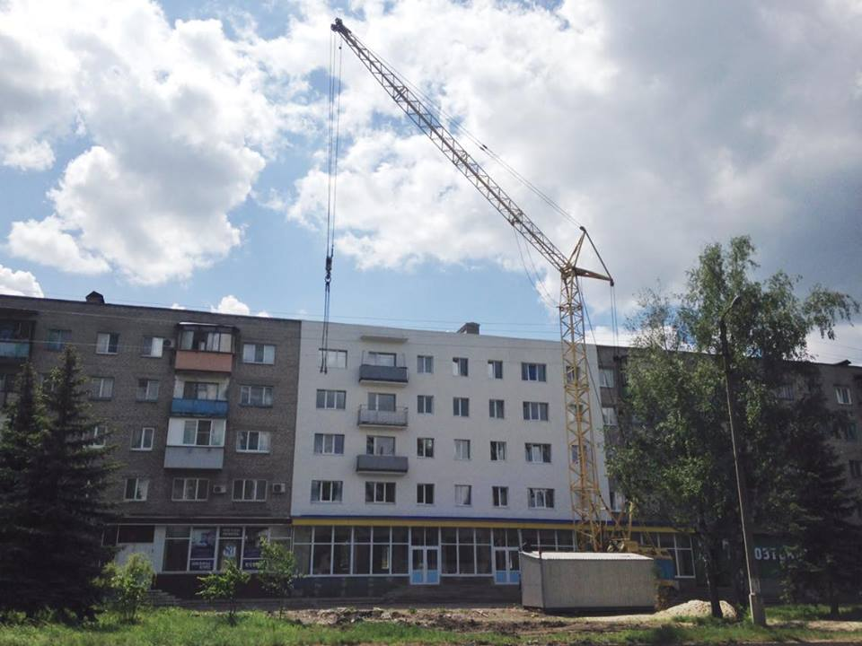 In 2016, the building was repaired. Photo: Euromaidan Press