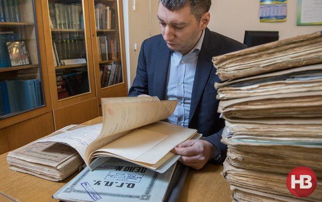 Igor Hoszowski wants today's Ukrainians to know more about their ancestors. Photo © Oleksandr Medvedev / NV.ua