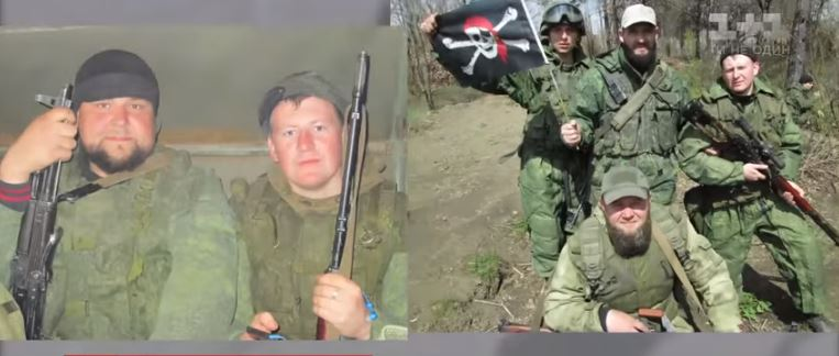 Ageyev during military service. Snapshot from TSN video