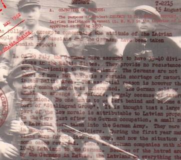 Image: Latvian Occupation Museum, CIA / Public domain; Lsm.lv collage