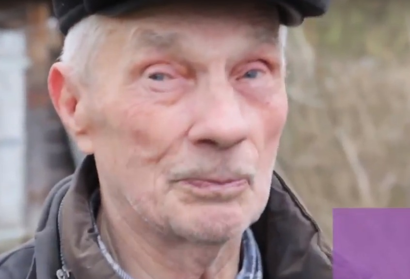 Leonid, 88. One of samosely, illegal 'self-settlers' in the Chornobyl Exclusion Zone.