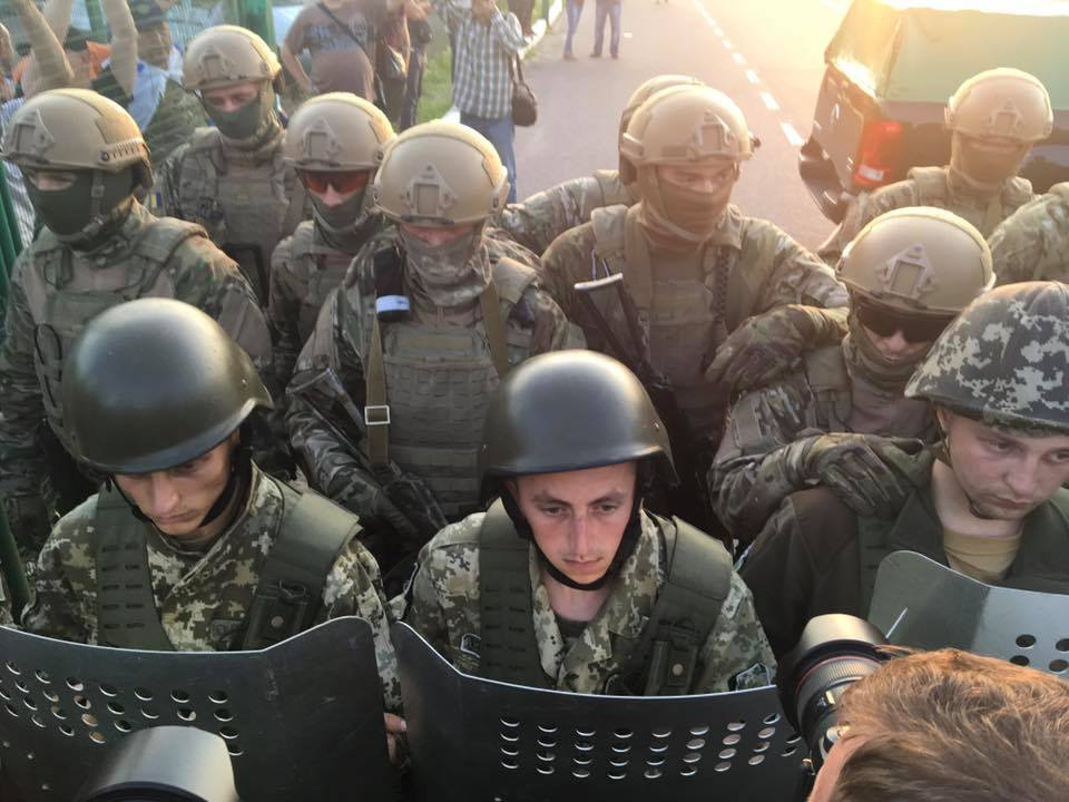 The Special Forces group. Photo: Gennadiy Druzenko