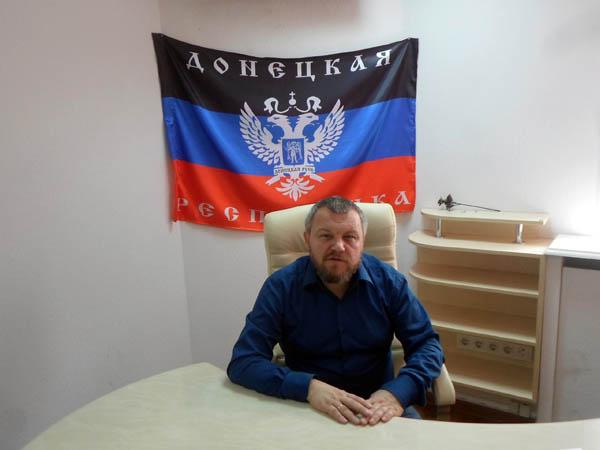 Andrey Purgin. Photograph: evrazia.org