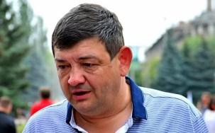 "Ivan Prykhodko, ""mayor"" of Horlivka. Photograph: gorlovka.today"
