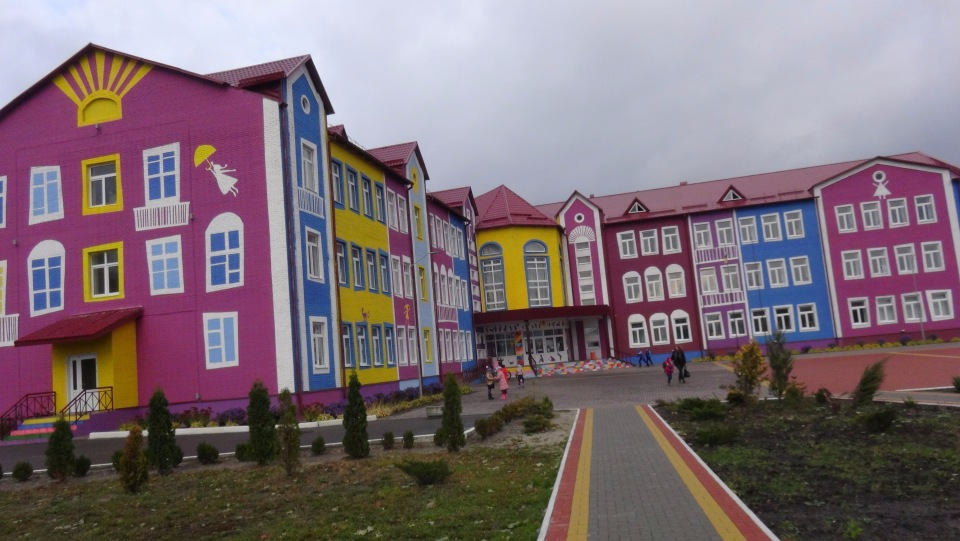 """The """"school of the future"""" built in Putrivka village, Kyiv Oblast, is an example of how schools can use their autonomy. Photo: www.vasilkove.com.ua"""