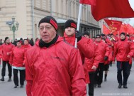 """Sergey Kurginyan, a leader of the Russian neo-Stalinist nationalist movement """"Essence of Time"""". His movement has its own unit in the occupied Donetsk Oblast. Photograph: eg.ru"""
