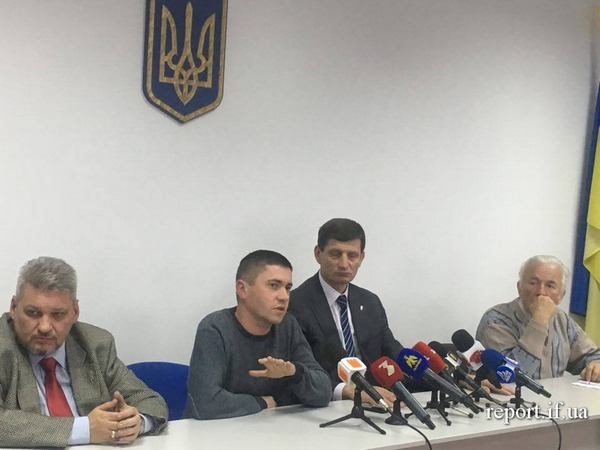 Press conference in Ivano-Frankivsk