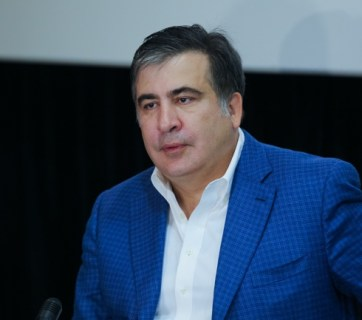 Mikheil Saakashvili. Photo: 112.ua