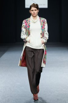 Clothes from the collection fall-winter 2012/2013 by Serebrova brand. Photograph: serebrova.com