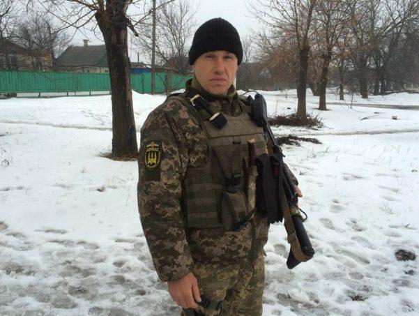 Serhiy, Donbas-Ukraine Battalion. Photo: Anastasiya Fedchenko