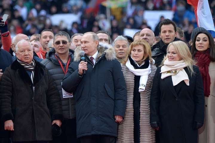 "At a rally in support of Vladimir Putin on 3 March 2018, Igor Ashmanov called Russia a ""warring country"""