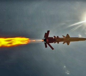 Ukrainian defense industry's first cruise missile Neptun