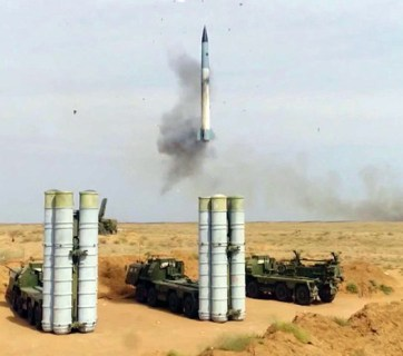 At the recent Abu Dhabi arms show, Russian officials claimed that the long-awaited very-long-range missiles 40N6E for Russia's most advanced S-400 Triumf (NATO reporting name: SA-21 Growler) anti-aircraft weapon system that were purchased by China were damaged at sea during shipment and had to be destroyed. (Photo: Video screen capture of testing an S-400 at the Kapustin Yar Proving Grounds in Russia.)