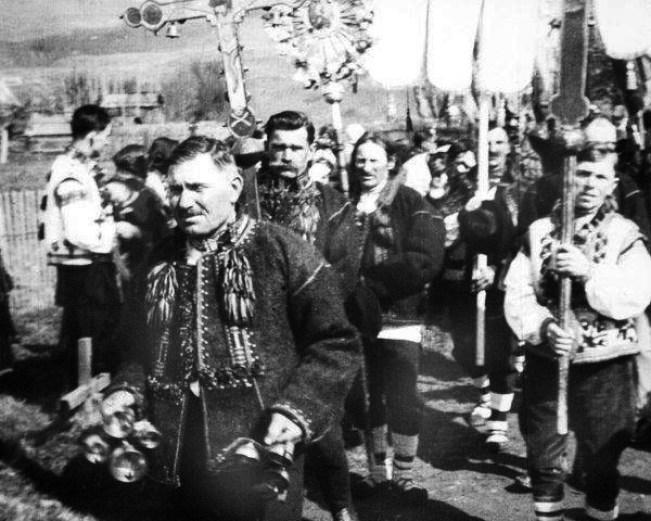 Easter in Western Ukraine, 1920s