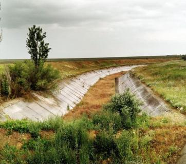 The North Crimean Canal is dried out. Photo: Krymr.org