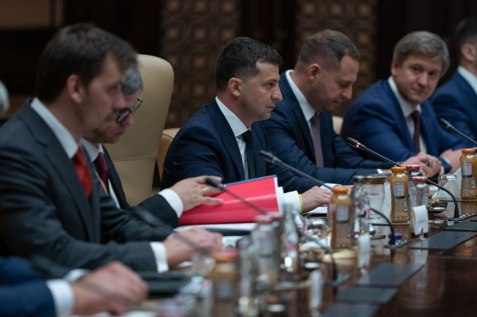 Volodymyr Zelenskyy in a meeting with the president of Turkey Recep Erdogan in Ankara on 7 August 2019 (Photo: president.gov.ua)