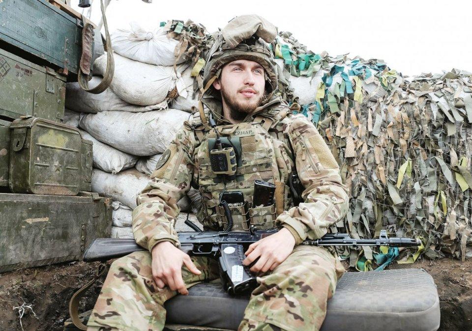 Ukrainian soldier. Photo: Gazeta.ua