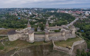 Rear View of Kamianets-Podilskyi fortress. Photo: ukrainer.net
